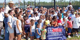 Three Oaks Park Tennis Center in Fort Myers, FL
