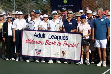 Adult Tennis Leagues in Lee County, Florida
